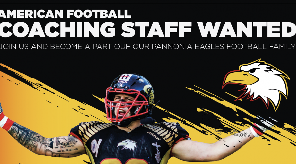 Eagles American Football Staff wanted