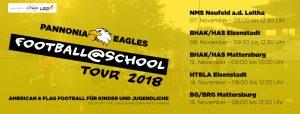 eagles football at school flag football