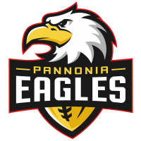 Pannonia Eagles Football Logo