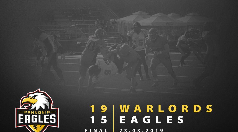 eagles vs. warlords game recap 2019