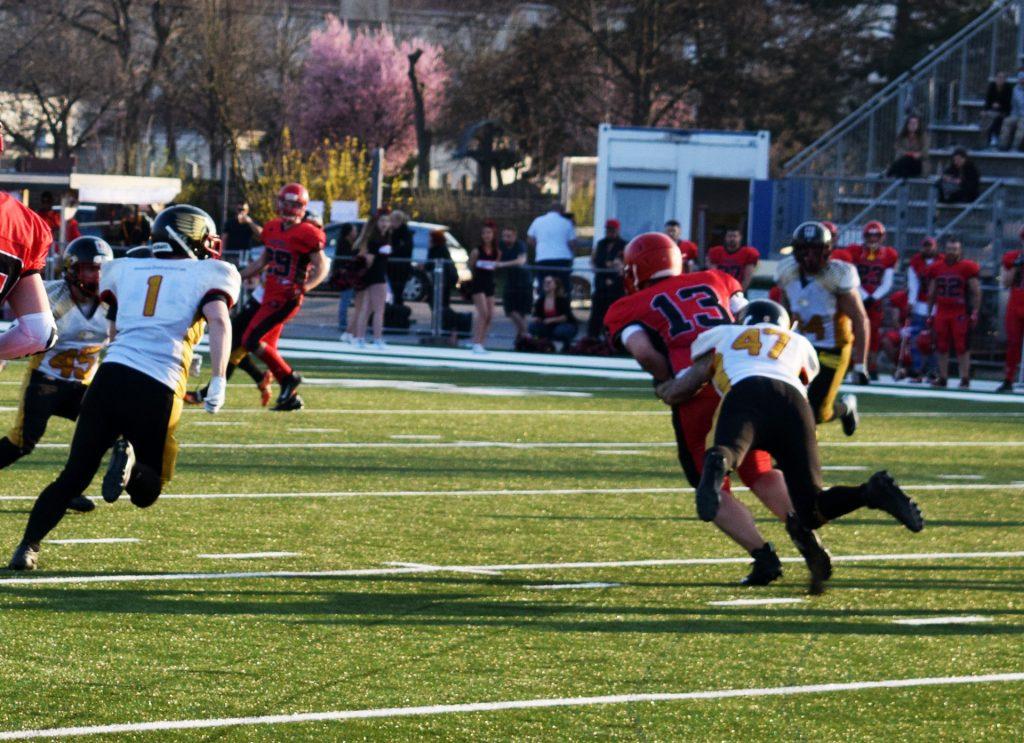 eagles vs. warlords 2019 tackle