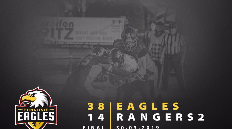 Eagles vs. Mödling Rangers 2