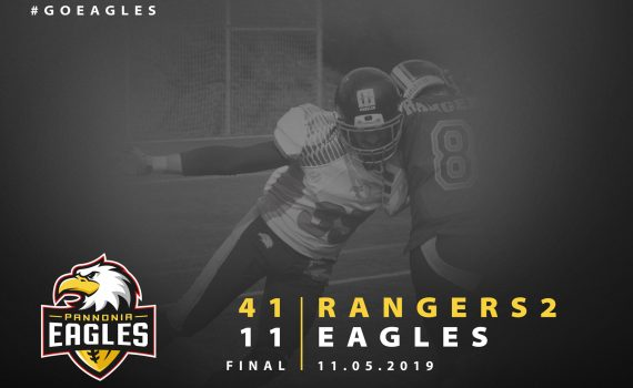 Eagles vs. Rangers American Football 2019