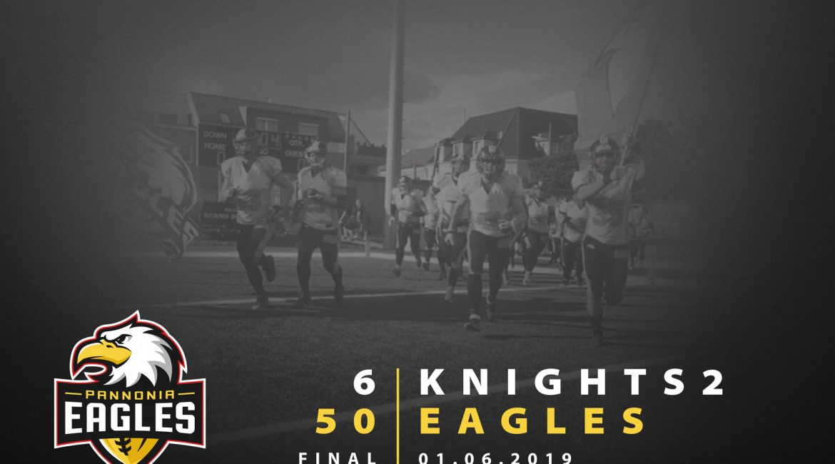 Eagles vs Knights2 2019